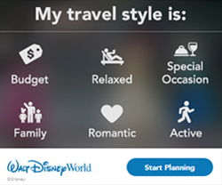 Walt Disney World Travel Style