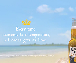 Corona Gets Its Lime (Beach)